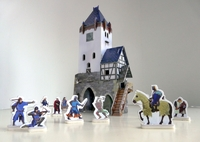 Игровой набор «Средневековый город» - Дозорная Башня