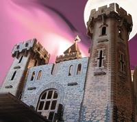 """Игровой набор из картона: """"Рыцарский замок"""""""