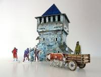Игровой набор «Средневековый город» - Верхняя башня