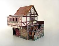 Игровой набор «Средневековый город» - Водяная мельница