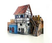 Игровой набор «Средневековый город» - Дом у стены