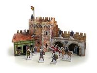 Игровой набор «Средневековый город» - Угловая башня