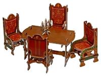 Мебель: Столовая (коричневая)