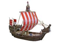 Игровой набор «Средневековый город» - Ганзейский Когг