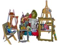 Мебель: Мастерская художника