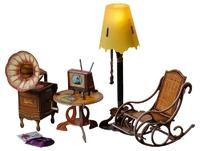 Мебель: Торшер и обстановка