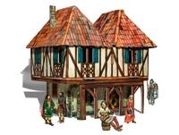 Игровой набор «Средневековый город» - Дом бюргера