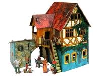 Игровой набор «Средневековый город» - Дом с кораблем
