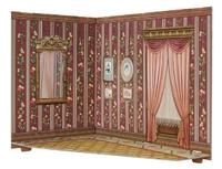 """Румбокс для коллекционного набора мебели """"Гостиная"""""""