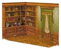 """Румбокс для коллекционного набора мебели """"Кабинет"""""""