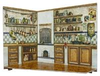 """Румбокс для коллекционного набора мебели """"Кухня"""""""