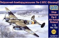 Пикирующий бомбардировщик Пе-2 ВВС Финляндии