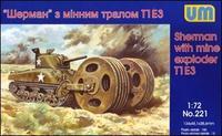 """""""Шерман"""" с минным тралом Т1Е3"""