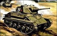 Советский легкий танк T-80