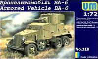UM318 Бронеавтомобиль БА-6