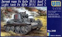 Танк Pz Kpfw 38(t) Ausf.C
