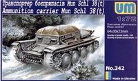 UM342 Mun Schl 38(t) WWII German ammunition carrier