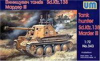 Истребитель танков Мардер III Sd.138