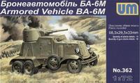Бронеавтомобиль БА-6М