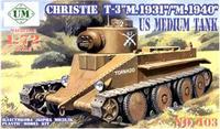 """Танк Кристи Т-3 """"М.1931"""" /""""М.1940"""""""