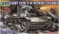 Советский легкий танк T-26/БТ-2