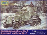 Советский бронированный автомобиль БА-6