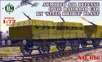 Бронеплощадка ПВО завода «Стальмост«
