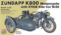 Мотоцикл Z?ndapp (Цундапп) K800 с коляской Steib Nr.28