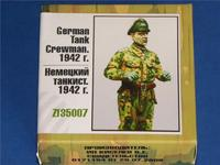 Немецкий танкист 1942 г.