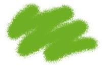 Акриловая краска зеленая