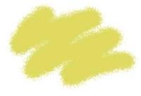 Акриловая краска охра светлая