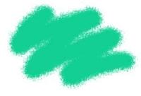 Акриловая краска изумрудная