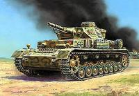ZVE3565 T-IV Ausf.F WWII German middle tank