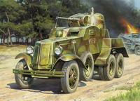 ZVE3617 BA-10 Soviet armored car