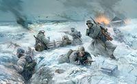 German infantry, Eastern Front Winter 1941-1942