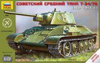 Т-34/76 советский средний танк, 1943г