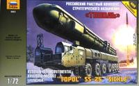 Баллистический ракетный комплекс Тополь