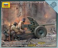 Расчет Немецкой пушки Пак-36