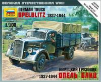 Модель грузовика Опель-Блиц (Opel Blitz)