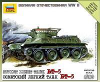 Масштабная модель советского легкого танка БТ-5