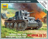 Масштабная модель немецкого танка Pz.Kpfw.38(t)