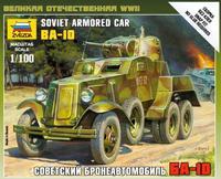 Советский бронеавтомобиль БА-10  / Soviet armored car BA-10