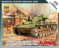 Немецкий огнеметный танк Pz.Kfw III