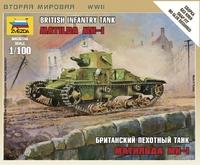 """Британский пехотный танк """"Matilda"""" MK-1"""
