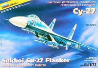 ZVE7206 Sukhoi Su-27 Russian interceptor-fighter
