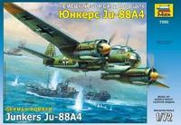 Немецкий бомбардировщик Юнкерс Ju-88A4