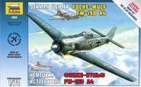 Немецкий истребитель Фокке Вульф FW-190A4