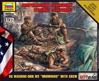 Американский станковый пулемет «Браунинг»