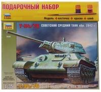 """Подарочный набор с моделью танка """"Т-34/76"""" обр. 1942г."""