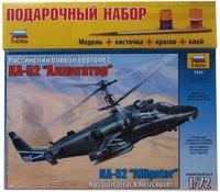 """Подарочный набор с моделью вертолета """"Аллигатор"""" КА-52"""
